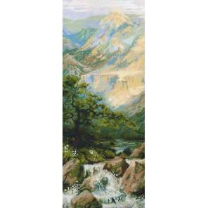 Горная река Набор для вышивания Риолис