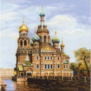 Санкт-Петербург. Храм Спаса-на-Крови Набор для вышивания Риолис