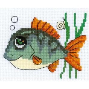 Рыбка с улыбкой Набор для вышивания Риолис