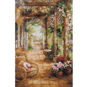 Свидание в саду Набор для вышивания Риолис