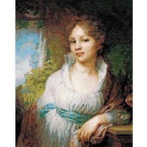 Портрет М.И.Лопухиной Владимира Боровиковского Набор для вышивания Риолис