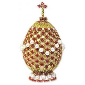 Яйцо пасхальное Набор для бисероплетения Риолис