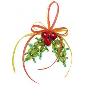 Игрушка Новогоднее украшение Набор для бисероплетения Риолис