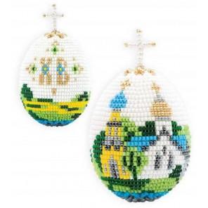 Яйцо. Церквушка Набор для бисероплетения Риолис