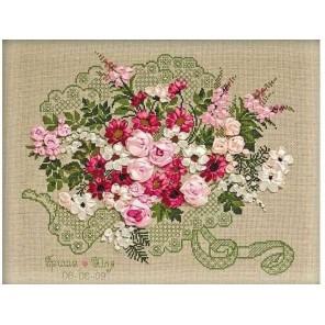 Свадебный букет Набор для вышивания Риолис