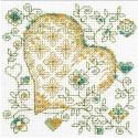 Золотое сердце Набор для вышивания Риолис