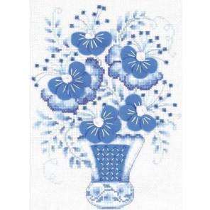Голубой букет Набор для вышивания Риолис