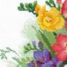 Фрезии Набор для вышивания Риолис