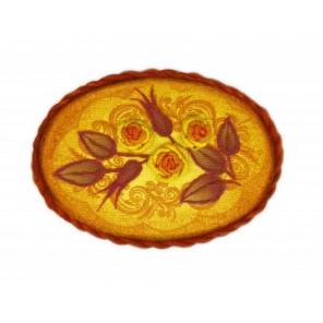 Брошь. Чайная роза Набор для вышивания Риолис