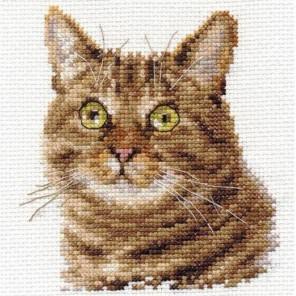 Упаковка Европейский кот Набор для вышивания Алиса