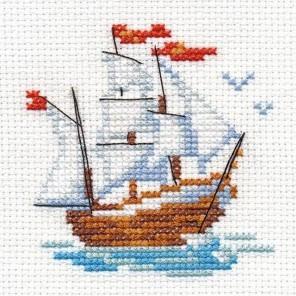 Кораблик Набор для вышивания Алиса