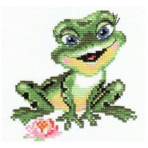 Лягушечка Набор для вышивания Алиса
