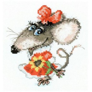Мышуля Набор для вышивания Алиса