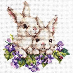 Упаковка Крольчата Набор для вышивания Алиса