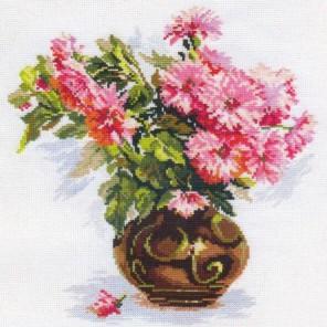 Цветущий сад: Хризантемки Набор для вышивания Алиса