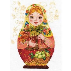 Матрешки. Осенняя краса Набор для вышивания Алиса