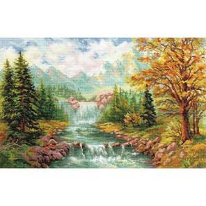 Горный водопад Набор для вышивания Алиса