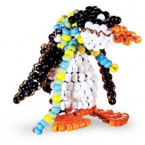 Игрушка Пингвин Набор для бисероплетения Кроше