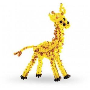 Игрушка Жираф Набор для бисероплетения Кроше