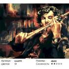 Количество цветов и сложность Скрипка Холмса Раскраска картина по номерам акриловыми красками на холсте