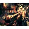 Скрипка Холмса Раскраска картина по номерам акриловыми красками на холсте