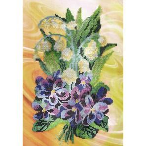 Весенний салют Набор для вышивки бисером Кроше
