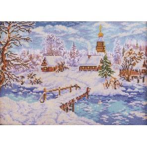 Рождественская сказка Набор для вышивки бисером Кроше