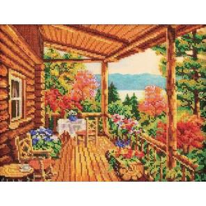 Уютное гнездышко Набор для вышивки бисером Кроше