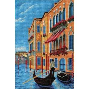 Гранд Канал. Венеция Набор для вышивки бисером Кроше