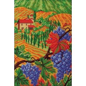 Холмы Тосканы Набор для вышивки бисером Кроше