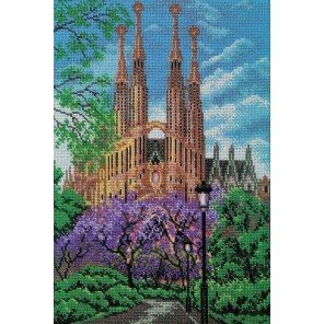 Храм Святого Семейства. Барселона Набор для вышивки бисером Кроше