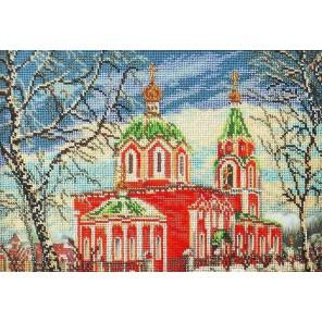 Успенский храм Набор для вышивки бисером Кроше