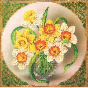 Нарциссы Набор для вышивки бисером Кроше