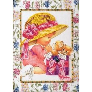 Подарок Набор для вышивки бисером Кроше