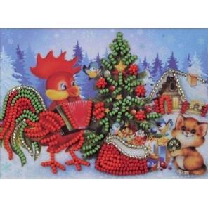 Новогодняя ёлочка Набор для вышивки бисером Кроше