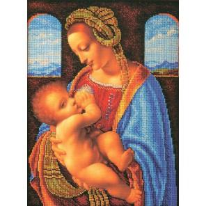 Мадонна Литта Леонардо да Винчи Набор для вышивки бисером Кроше