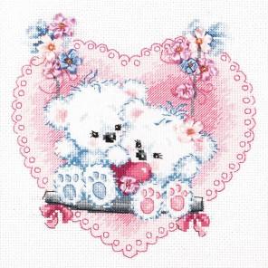 Счастливая любовь Набор для вышивания Чудесная игла