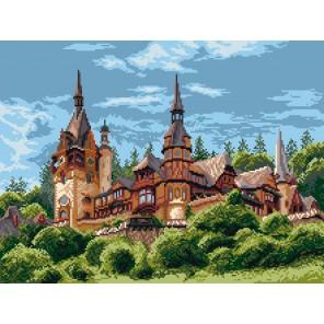 Замок в Румынии Ткань с рисунком Матренин посад