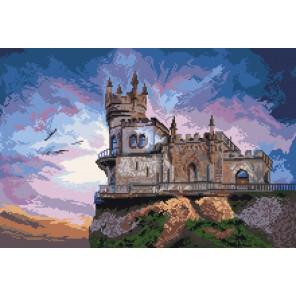 Ласточкино гнездо Ткань с рисунком Матренин посад