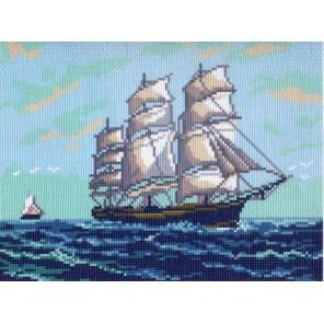 Парусник Ткань с рисунком Матренин посад