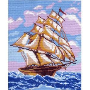 На всех парусах Ткань с рисунком Матренин посад