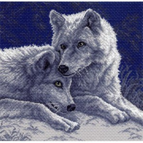 Лунная ночь Ткань с рисунком Матренин посад