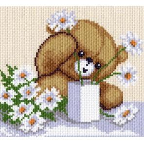 Цветы для мамы Ткань с рисунком Матренин посад
