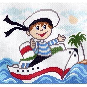Ромка-капитан Ткань с рисунком Матренин посад