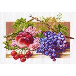 Солнечные плоды Ткань с рисунком Матренин посад