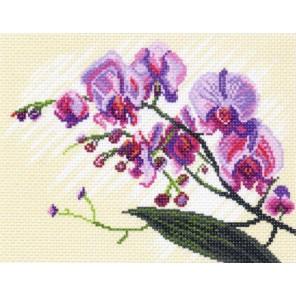 Орхидеи Ткань с рисунком Матренин посад