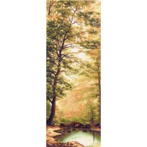 Дыхание осени Ткань с рисунком Матренин посад