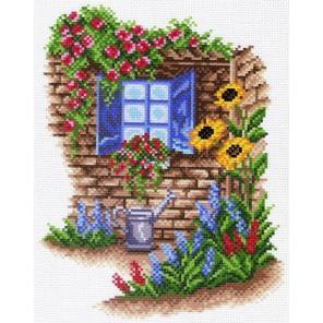 Окно в сад Ткань с рисунком Матренин посад