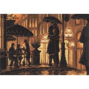 Ночное кафе Ткань с рисунком Матренин посад