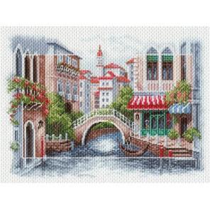 Венецианский мостик Ткань с рисунком Матренин посад